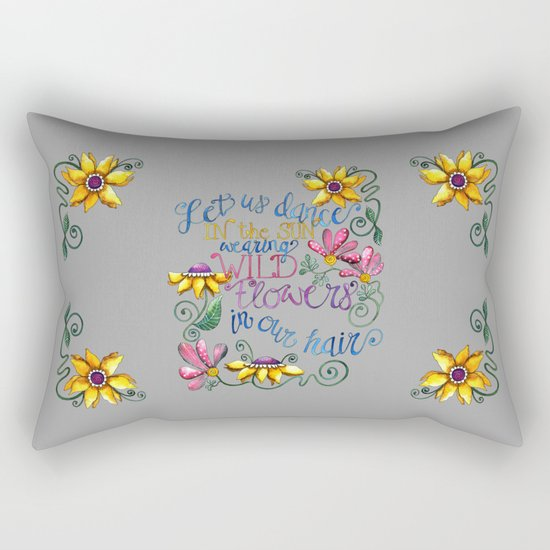 Let Us Dance Two Rectangular Pillow
