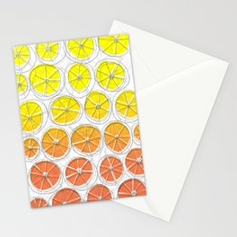 Red Lemonade Stationery Cards