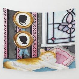 """Beloved Cat I"" Wall Tapestry"