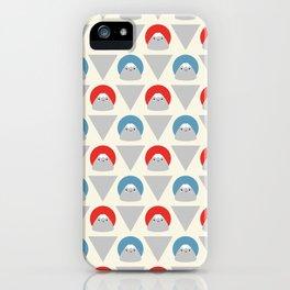Mt Fuji Dots iPhone Case