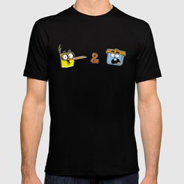 Bird and Squirrel on the Edge! T-shirt