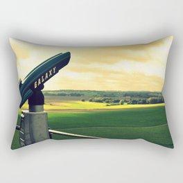 Overlooking the battlefield Rectangular Pillow