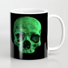 Skull quartet green Coffee Mug
