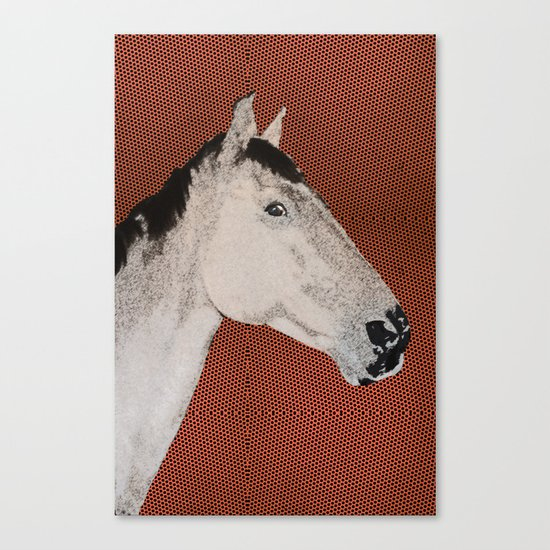 Stable love Canvas Print