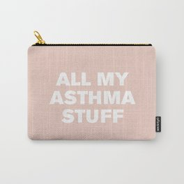 All My Asthma Stuff (Pale Dogwood) Carry-All Pouch