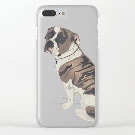 The Boxer Clear iPhone Case