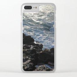 Costa rica Ocean Pacific beach Clear iPhone Case