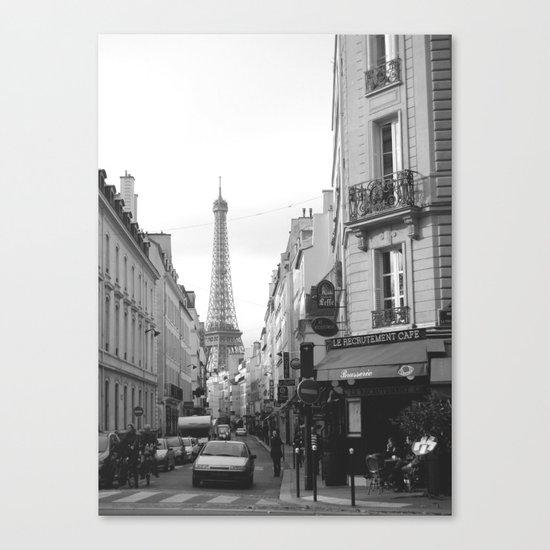 Rue St Dominique Canvas Print