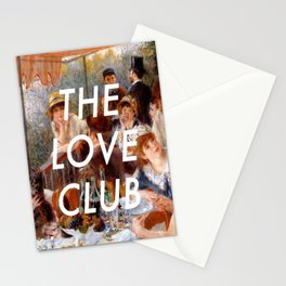 Luncheon with the Love Club Stationery Cards