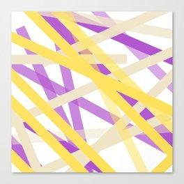 Banana Concrete Blueberry Trio Canvas Print