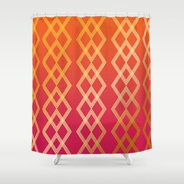 Duskube Shower Curtain