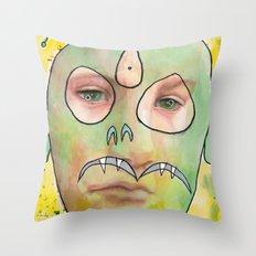 I feel jealous Throw Pillow