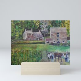 Lucky Hill Mini Art Print