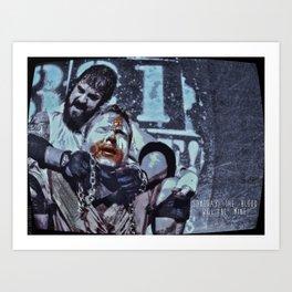 Blood. Mine. Art Print