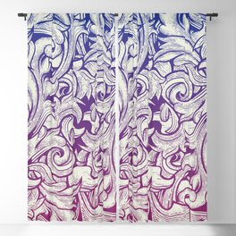Pattern With Engraving Style Blackout Curtain