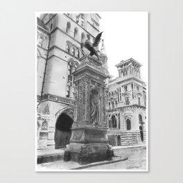 Temple Bar Memorial (London) Canvas Print