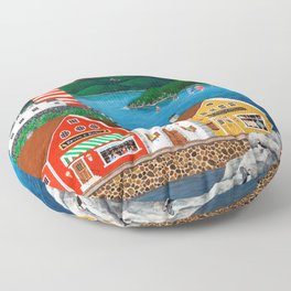 Puffin Point Floor Pillow