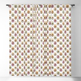Easter Egg pattern Blackout Curtain
