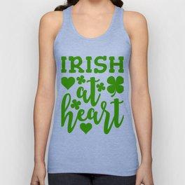 Irish At Heart Unisex Tank Top