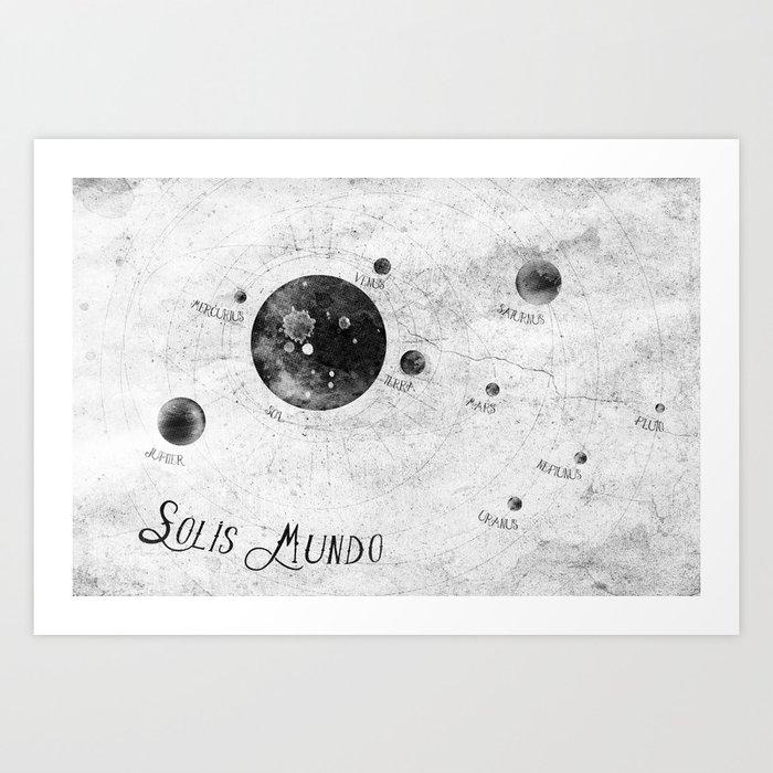 Solis Mundo II Art Print