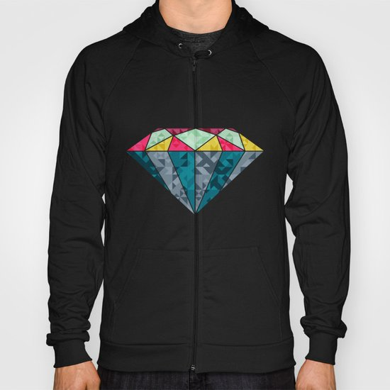 Diamond Geometric Hoody
