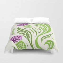 Thistle - Color Duvet Cover