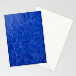 Pretty Blue Cases - Ombre - Stucco - Pillow - Classic Blue - Shower Curtains Stationery Cards