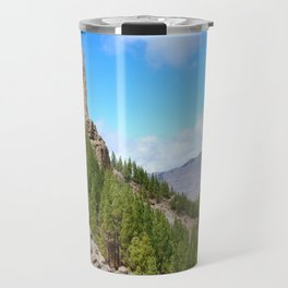 Roque Nublo peak Travel Mug