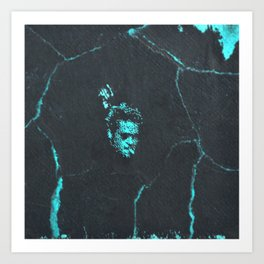 Tyler Durden without the Narrator Art Print