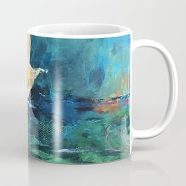 The Lotus House of Love, Peace & Migration Coffee Mug