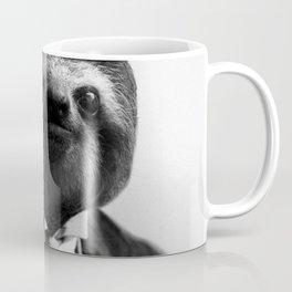 Sloth with Bowl Hat Coffee Mug