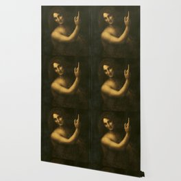 "Leonardo da Vinci ""St. John the Baptist"" Wallpaper"