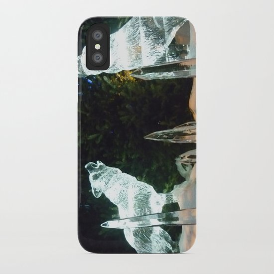 Ice Wolves iPhone Case
