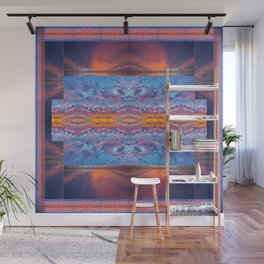 Fire in the Sky Quilt Wall Mural