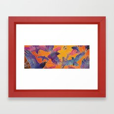 Make Way for the Raven King Framed Art Print