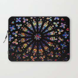Church stained glass windows colors Laptop Sleeve
