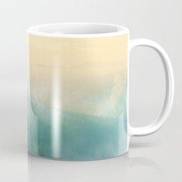 Foggy Forest Mountain Sunrise (Color) Coffee Mug