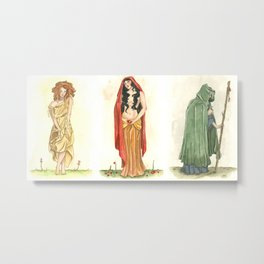 The Maiden, Mother, and Crone   Metal Print