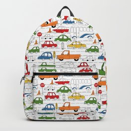 Busy Traffic Pattern Backpack