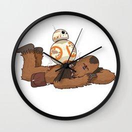 Chewbacca's Back Massage Wall Clock