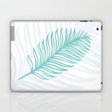 Palm Leaf in Blue and Green Laptop & iPad Skin