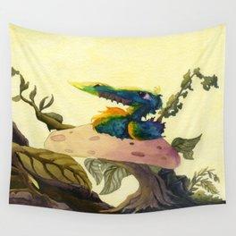 Derp Bird Wall Tapestry