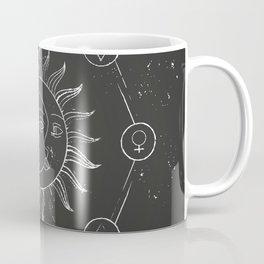 Moon, sun and elements Coffee Mug