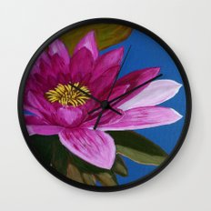 Queen of the pond Wall Clock