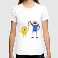 finn and jake T-shirts featuring Finn And Jake! by Ben Morgan
