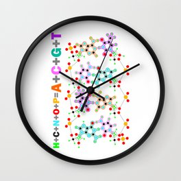 The bricks of Life Wall Clock