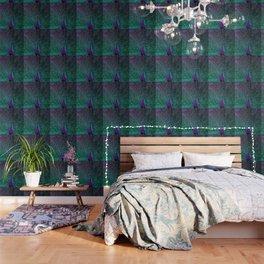 BLOOMING PEACOCK Wallpaper