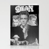 50s Stationery Cards featuring  Dean Poster (Circa mid 50s) by Chris' Landscape Images & Designs