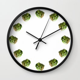 Salad Solo Wall Clock