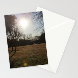 Sun in the morning Stationery Cards